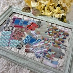 Jamberry scraps lot and packets